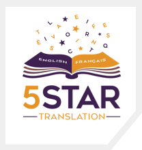 5 Star Translation Services Logo