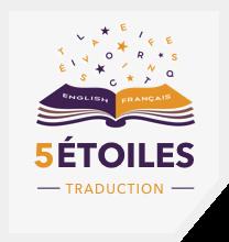 Le logo de traduction 5 Étoiles